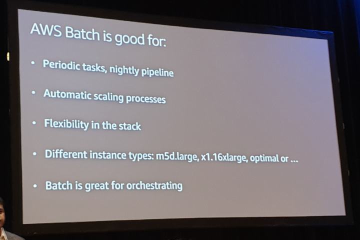 AWS Batch is good for
